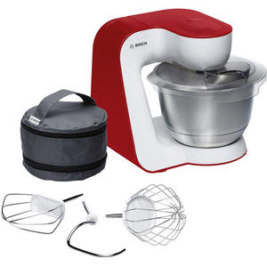 Bosch MUM54R00 Styline Küchenmaschine weiß/deep red