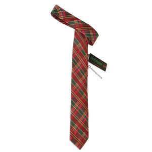 Trachtenkrawatte Trachten Krawatte aus Seide Made in Austria rot grün gold Muster Trachtenhochzeit Oktoberfest Anzug