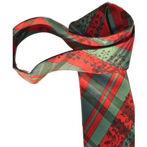 Hubegger Trachtenkrawatte Trachten Krawatte aus Seide Made in Austria rot grün Trachtenhochzeit Oktoberfest Anzug Hochzeit