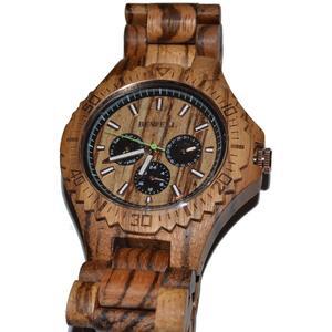 Bewell Holz Armbanduhr Uhr Armband Uhr Holzuhr Zebrano