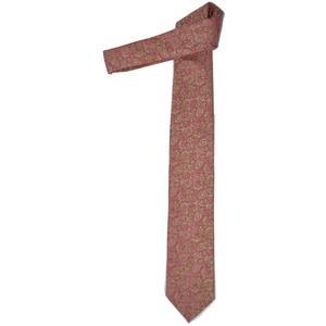 Hubegger Trachtenkrawatte Trachten Krawatte aus Seide Made in Austria bordeaux gold Muster Trachtenhochzeit Oktoberfest Anzug Hochzeit