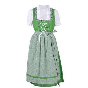 Trachten Dirndl Kleid Damen Gr. 36 grün