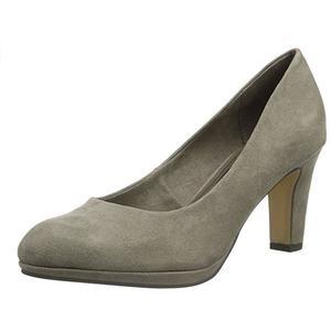 Tamaris Damen Plateau Pumps Schuhe Heels Gr. 37 taupe