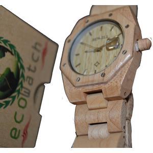 Bewell Holz Armbanduhr Uhr Armband Uhr Holzuhr Ahorn Echtholz Geschenk Geschenkidee Unikat handmade