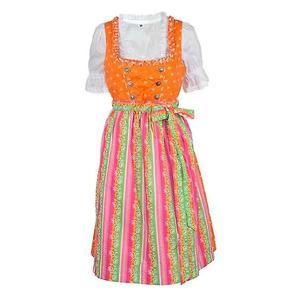 Trachten Dirndl Kleid Damen Gr. 36 bunt
