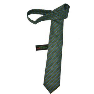 Hubegger Trachtenkrawatte Trachten Krawatte aus Seide Made in Austria blau grün Muster Trachtenhochzeit Oktoberfest Anzug Hochzeit
