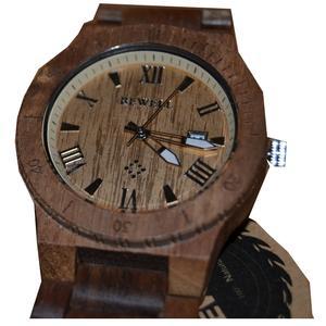 Bewell Holz Armbanduhr Holzuhr KOA Holz