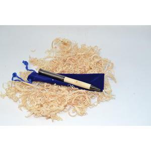 Holz Drehkugelschreiber Kugelschreiber Pen Ahorn gun metallic Unikat Geschenk