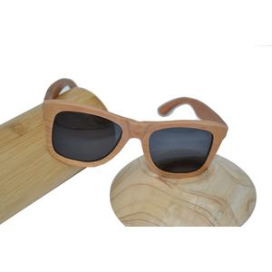 Holz Sonnenbrille Brille polarisiert UV400-Schutz braun Kirsch Holz Unikat UV Schutz Geschenk Geschenkidee Unikat handmade