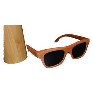 Holz Sonnenbrille Brille polarisiert UV-400 Schutz aus echtem Kirsch Holz Brille UV Schutz handmade Geschenk Geschenkidee Unikat handmade