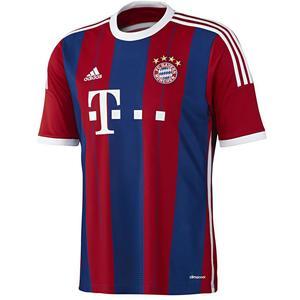 Adidas FC Bayern München Trikot Shirt Heimtrikot rot/blau - Variante