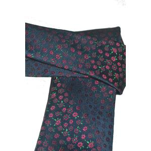 Hubegger Trachtenkrawatte Trachten Krawatte aus Seide Made in Austria schwarz rot geblümt Muster Trachtenhochzeit Oktoberfest Anzug Hochzeit