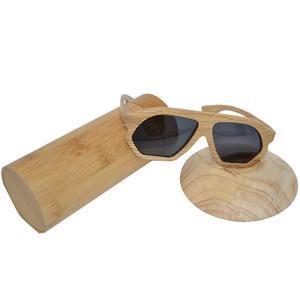 Holz Sonnenbrille Brille UV-400 Schutz polarisiert braun Buchen Holz Unikat UV Schutz polarisiert Buche Geschenk Geschenkidee Unikat handmade