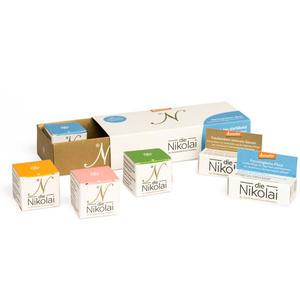 dieNikolai Kennenlern Box - 6 Pflege Miniaturen + Gutschein