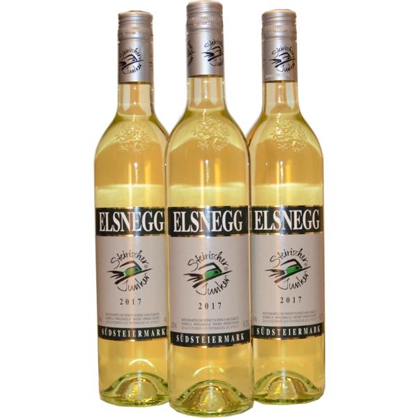 Steirischer Junker 2017, 3 Flaschen a 750ml, Weingut Elsnegg