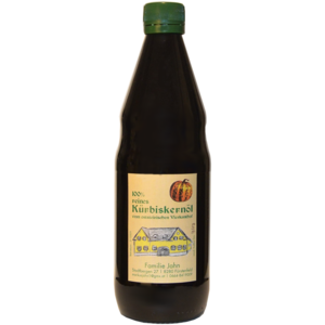 100% reines Kürbiskernöl, 500ml, Fam. Jahn