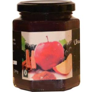 Uhudler Fruchtaufstrich mit Äpfeln und Zimt Hausgemacht, 200g, Likörmanufaktur Posch-Kindlhofer