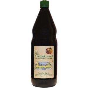 100% reines steirisches Kürbiskernöl, 1l, Fam. Jahn