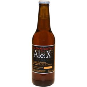 Bier EDERS BIO Ale:X 0,33l