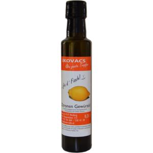 Zitronen Gewürzöl, 250ml, Fam. Kovacs Öle