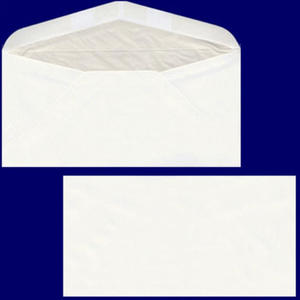 25 Stk Briefumschlag DL-C5/6 220x110mm, 90gr, NK SF OF, weiß