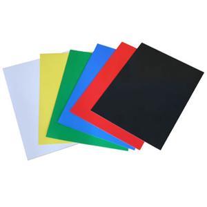 25 Stk Rückwände / Deckblätter Chromo glossy, 250gr/m2, A4, grün