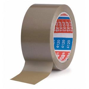 TESA Klebeband tesapack 4120, PVC, 50mm x 66m, braun