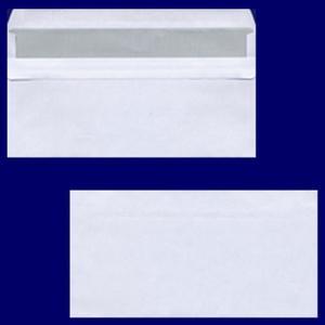 100 Stk Briefumschlag DL-C5/6 220x110mm, 75gr, SK OF, weiß