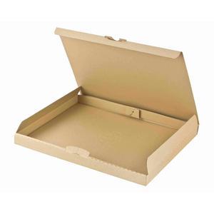 100 Stk Maxibriefkarton DHL briefkastentauglich Höhe 3cm 310x225x30mm Din A4 braun