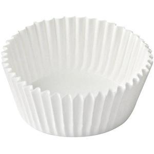 1000 Stk Gebäckkapseln weiß Ø 35 x 20 mm