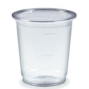 160 Stk Trinkbecher Medizinbecher Schnapsbecher glasklar PET 2 cl / 4 cl