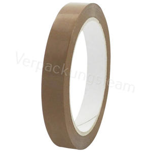 1-PACK Packband Klebeband OPP-909NN, 15 mm x 66 m, Low Noise braun