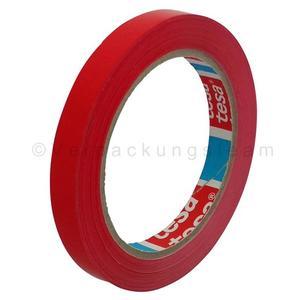 144 Stk Klebeband Markierungsband tesafilm 4204 PVC, 12mmx66m, rot