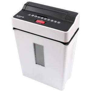 Olympia PS 53 CC Aktenvernichter Partikelschnitt 6 Blatt Kreditkarte Sensor weiß
