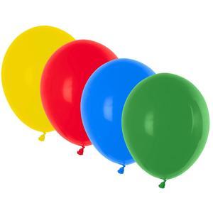 100 Stk Luftballons bunt gemischt Ø 250 mm, Größe 'M'