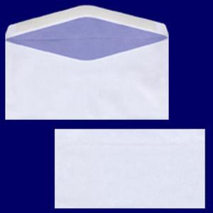 100 Stk Briefumschlag DL-C5/6 220x110mm, 75gr, NK OF, weiß