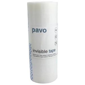 8 Stk Pavo Klebefilm Büroklebeband Easy Tear 19 mm x 33 m, durchsichtig