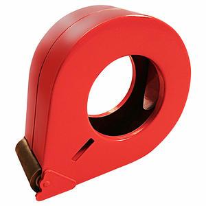 Handabroller aus Metall, robuste geschlossene Ausführung für 50mm Bänder