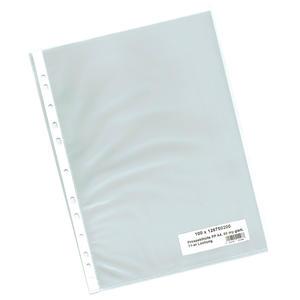 100 Stk Prospekthüllen A4, Business, oben offen, glasklar, 60 my