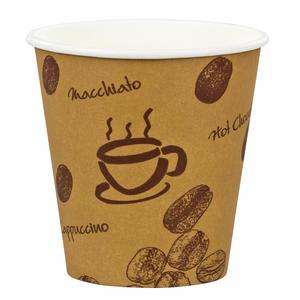 200 Stk Espressobecher Premium `Coffee to go` Pappe beschichtet 100 ml
