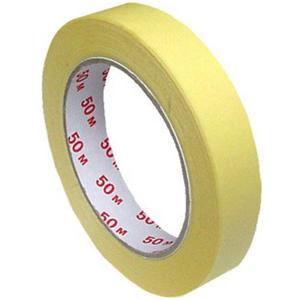 48 Stk Kreppband Kreppklebeband Abdeckband CLASSIC, gelb, 19mm x 50m