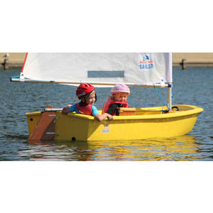 WWS - OPTIMIST für junge Segler - Rumpffarbe gelb