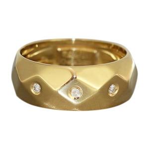 Goldring 750 m. Brillanten Damenring Ring Gold 18 kt Brillantring RW 56 Bandring