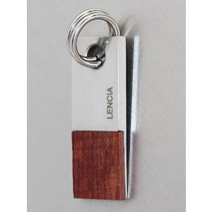 Top Design Anhänger Edelstahl und Holz für Herren Lencia Design