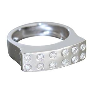 Goldring 585 Rubin Safir Brillant Damenring Diamantring Ring Gelbgold RW 56
