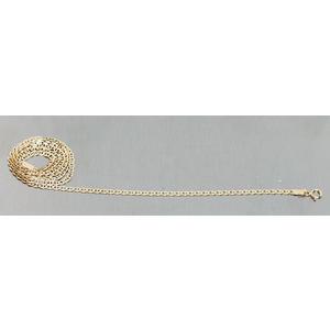 Goldkette 585 Ankerkette massiv 2,3 mm Halskette 50 cm