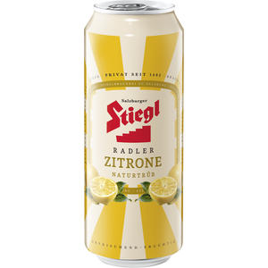 Stiegl-Radler Zitrone Naturtrüb Dose - Anzahl Stück: 24 à 1,08 EUR
