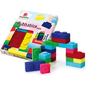 Rubbablox - Bausteine aus farbigem Naturkautschuk