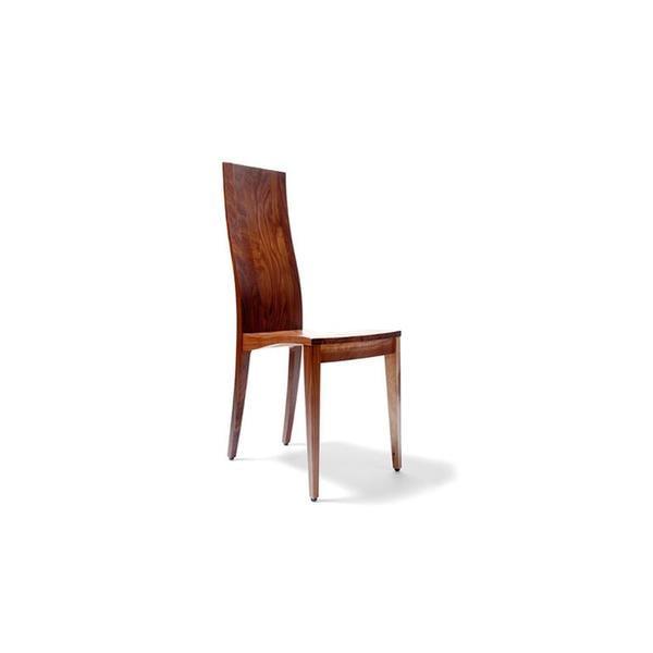 Eleganter Stuhl - 'Sitwell Fine' nuss lackiert