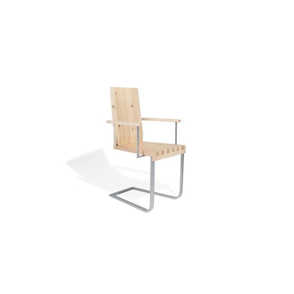 Stuhl aus Zirbenholz (Arve) - 'Sitwell Breezy'
